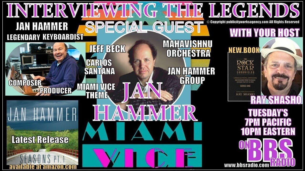 Jan Hammer: Mahavishnu … Jeff Beck … Miami Vice … GENIUS!