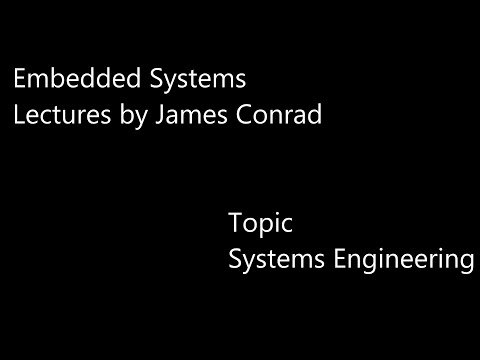 Embedded Systems - Systems Engineering Topics