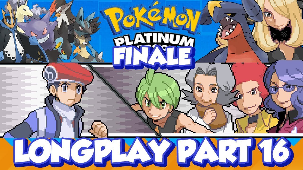 Pokémon Platinum Longplay (Part 16 Finale)