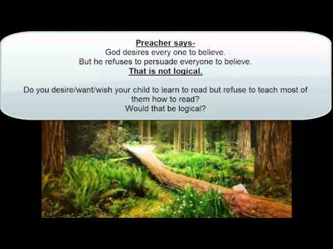 Preacher debate. Universal salvation.