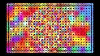 Фон веселый с цветными шариками
