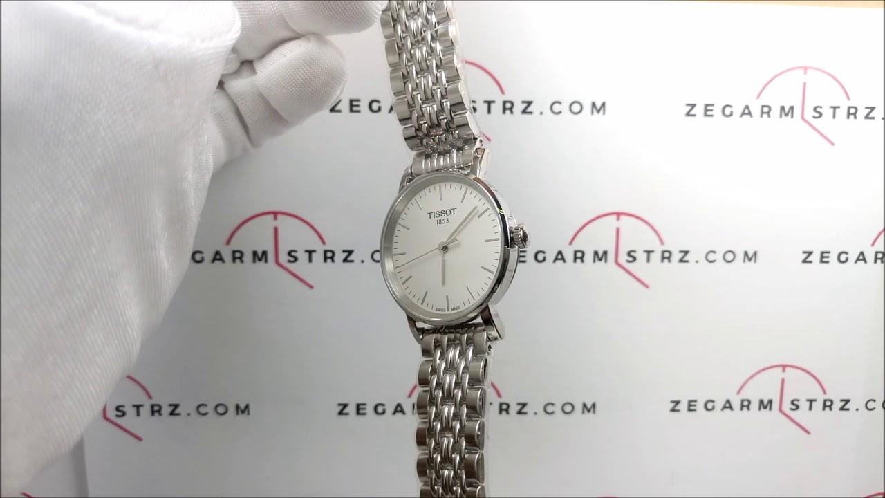a6397785ce5 Zegarek Tissot Everytime Lady T109.210.11.031.00 T1092101103100  www.zegarmistrz.com