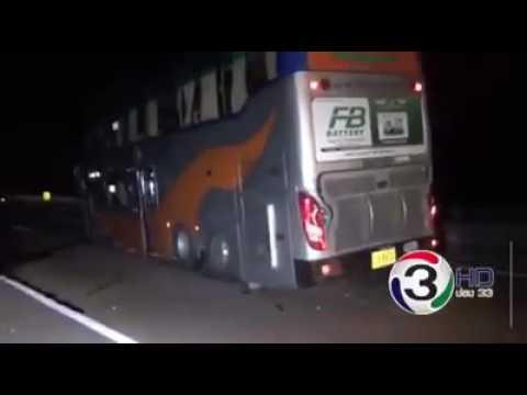 Elephant &  Volvo Bus Accident