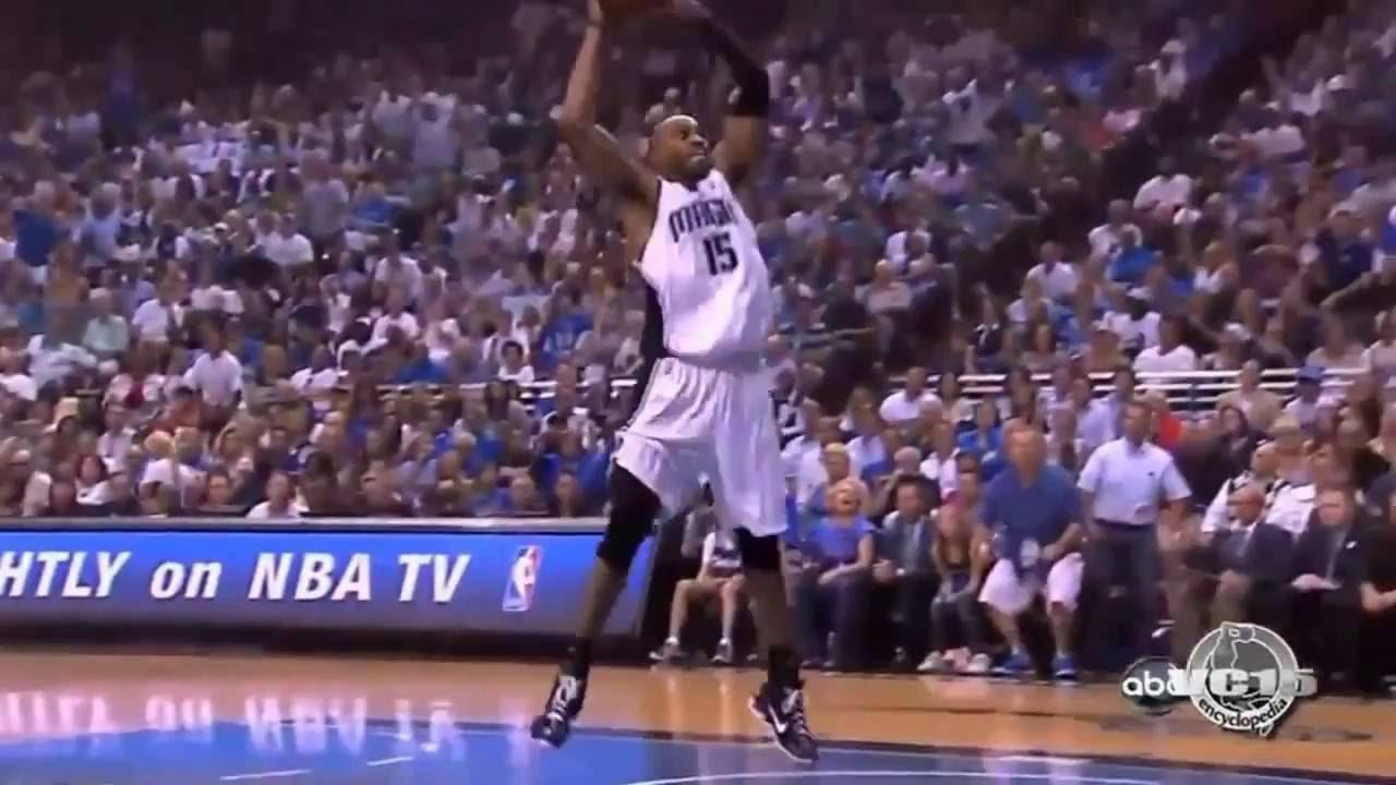 promo code af517 6e046 Top 10 Vince Carter dunks with Orlando Magic