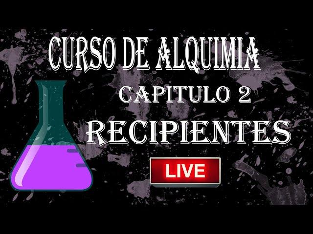 APV 201. CURSO DE ALQUIMIA VAPEO. CAPITULO 2 - RECIPIENTES