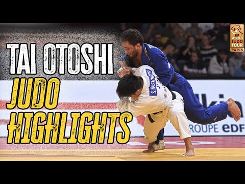 Tai Otoshi Judo Highlights 体落とし