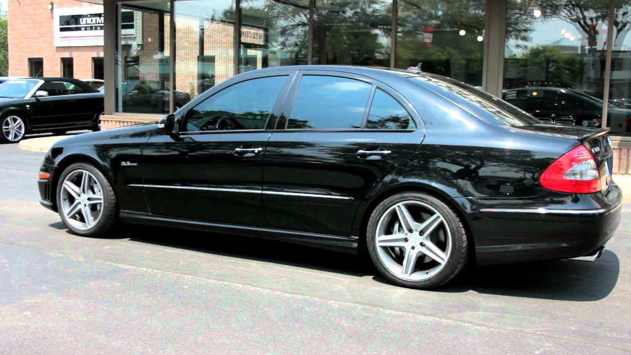 Worksheet. 2009 MercedezBenz E63AMG  Village Luxury Cars Markham  YouTube