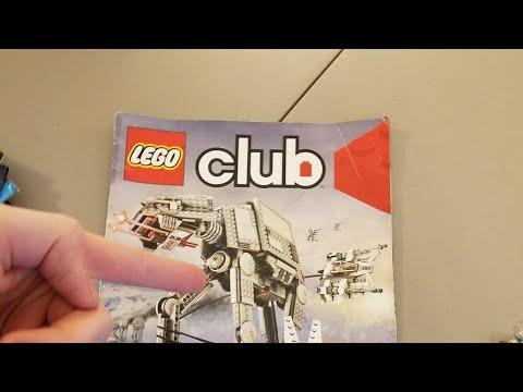 My First Lego Club Magazine Review!!