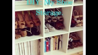 Diy: My Shoe Storage | Alice Chidgey