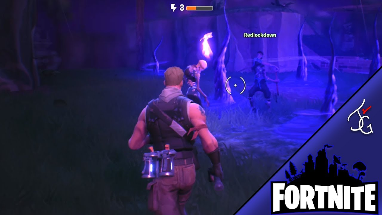 ghost rider zombie in storm shield fortnite gameplay with roggion redlockdown - ghost rider skin fortnite