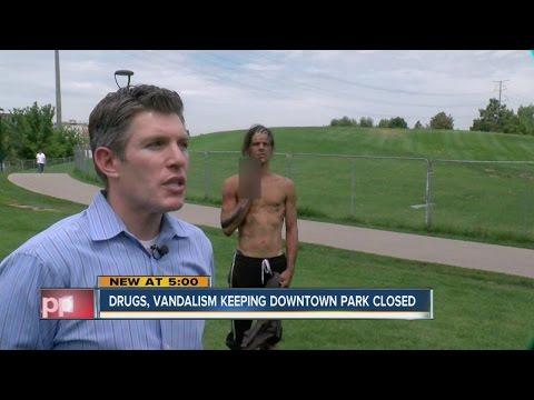 Drugs, vandalism keep downtown Denver park closed