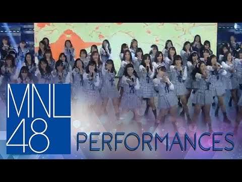 """MNL48: MNL48 First Generation performs the tagalized version of AKB48's """"Aitakatta"""