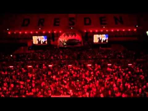 Kreuzchor Im Dynamo Stadion Dresden Weihnachtskonzert Youtube