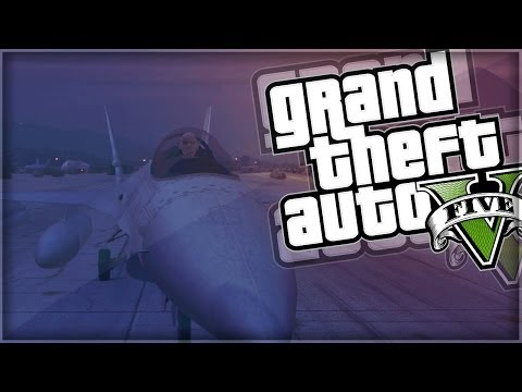 GTA 5 Funny Moments | Epic Fighter Jet Deathmatch (GTA V Online)