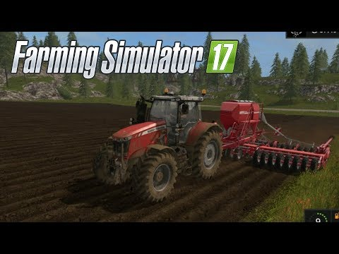 Farming Simulator 17--Private World #8!--NEW TRAILER, TRACTOR, AND HUGE SOWER!