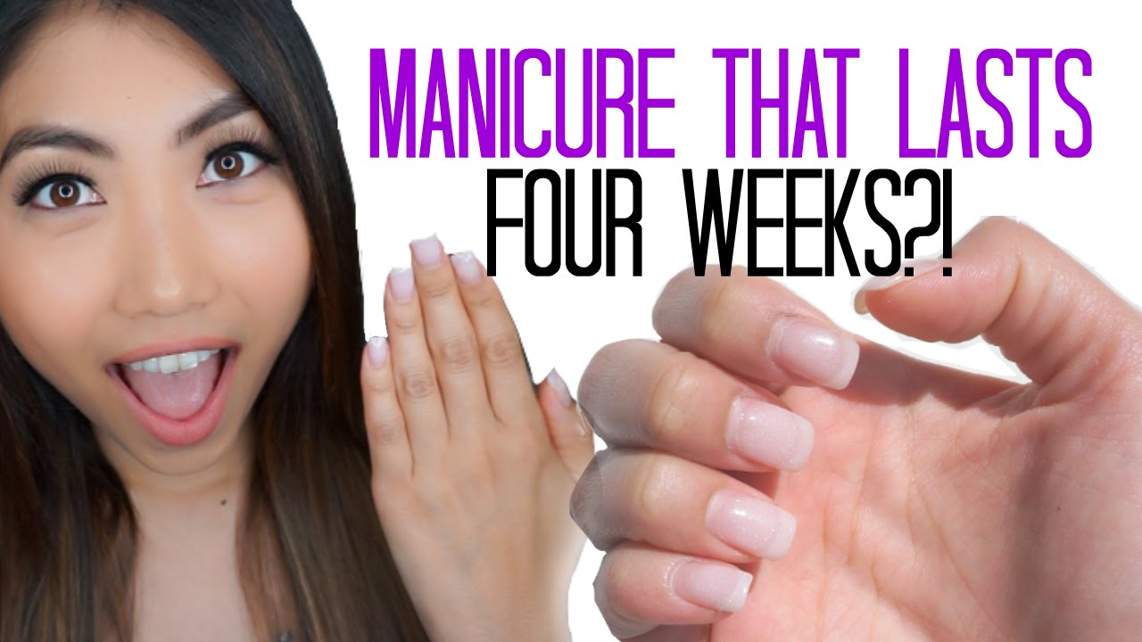 Long Lasting Manicure - SNS Nails - YouTube