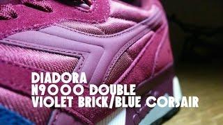 Diadora N9000 Double & on feet & detail pictures