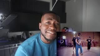 "London On Da Track - ""Throw Fits""   Nicole Kirkland Choreography (REACTION)"