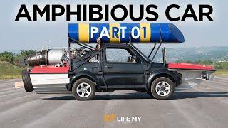 AMPHIBIOUS CAR PART 1 - The Grand Tour