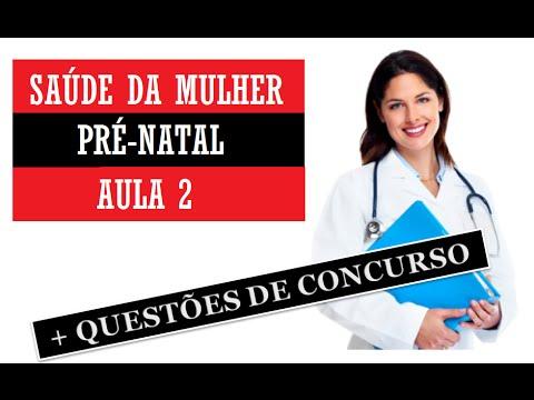 Vídeo Exames pré natal ministério da saúde
