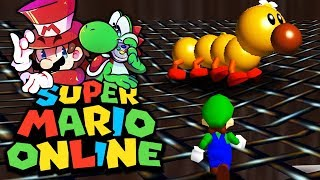 Internetprobleme & Bosskampf mit Wiggler! | 14 | Super Mario 64 Online