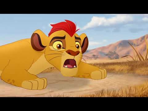 The Lion Guard Battling Kenge The Bite Of Kenge Youtube
