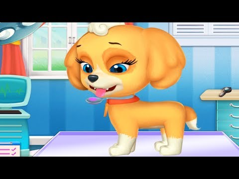 fun care kids games - my cute little pet puppy - take care of cute puppy games for kids to play