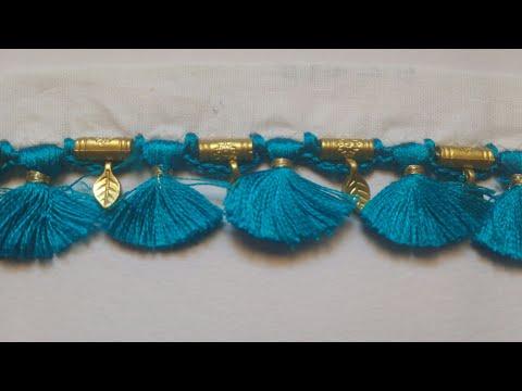 Avani easy saree kuchu design