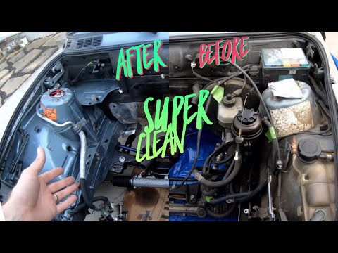 How to Super Clean your engine bay BMW E30 S52 Swap Series
