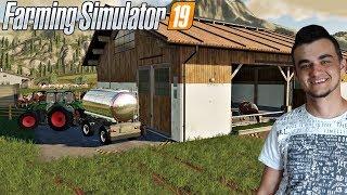 Farming Simulator 19 -Obora, Pastwisko, Konie, Krowy i Transport Mleka!