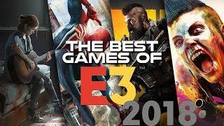 THE BEST 10 GAMES -E3 2018-(Cnimatics Trailers)