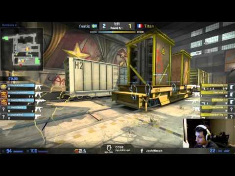 Demo Review: Titan vs Fnatic @ EEPL Regular Season [de_train]
