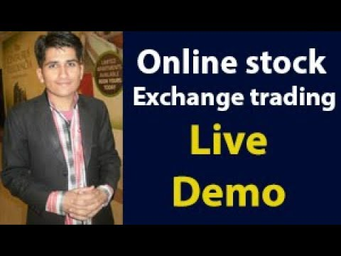 online stock exchange trading