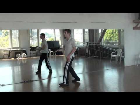 Madonna Don't Tell Me Dance Tutorial 1/3 (Instructions)