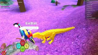 Roblox Pue and some dinosaur sim gaming!
