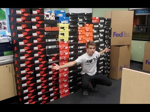 RESELLING 150 SNEAKERS IN ONE NIGHT!!! (YOU CAN DO THIS TOO!!!)