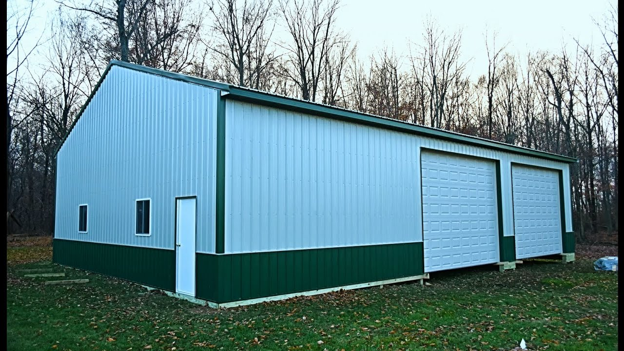 built car a on story single garages frame builders garage amish site products