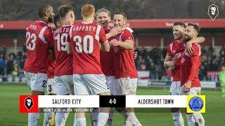 Salford City 4-0 Aldershot Town | The National League 17/11/18