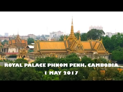 No.-1:Royal Palace Phnom Penh, Cambodia surrounds with nice place attraction. 1-5-2017