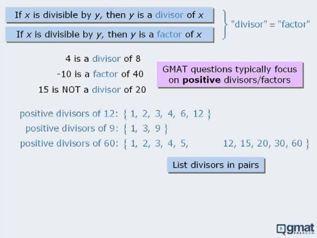 GMAT Math - Properties of Consecutive Integers