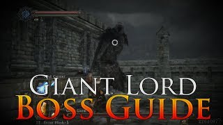 Dark Souls 2: Giant Lord Boss Guide | How to Defeat the Giant Lord (NG+7)