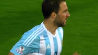 Copa América 2015: Goles: Argentina Vs Jamaica
