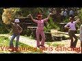 My Son Vietnam Girls dancing, Chicas que bailan, 女孩跳舞, लड़कियों नृत्य, رقص البنات, 女の子のダンス,