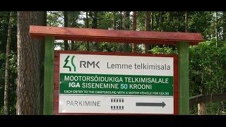 Lemme campsite Pärnu County Estonia