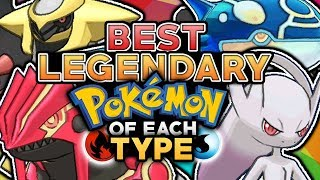 Who Is The Best Legendary Pokemon Of Each Type?
