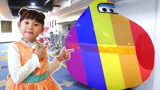 슈퍼윙스 키즈카페 놀이터 | 슈퍼라임 | 타요키즈카페 모음영상  LimeTube & indoor playground