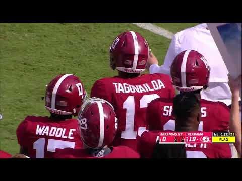 Alabama vs Arkansas State, 2018 (in under 37 minutes)