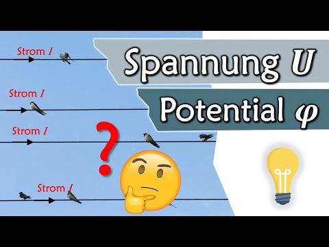 Elektrische Spannung und Potential, Volt | Elektrotechnik Grundlagen #5
