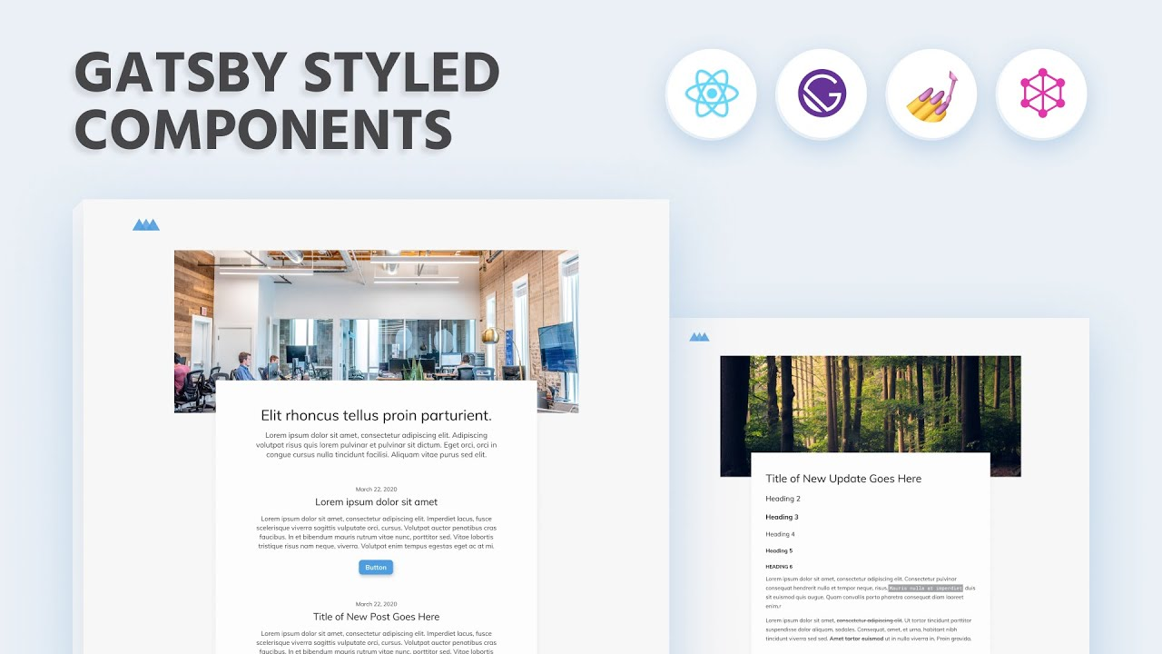 Gatsby JS Course: How to Use Styled Components