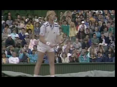Tennis   Wimbledon Finale 1988   Boris Becker vs Stefan Edberg